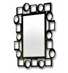 Specchio in ferro battuto Pop