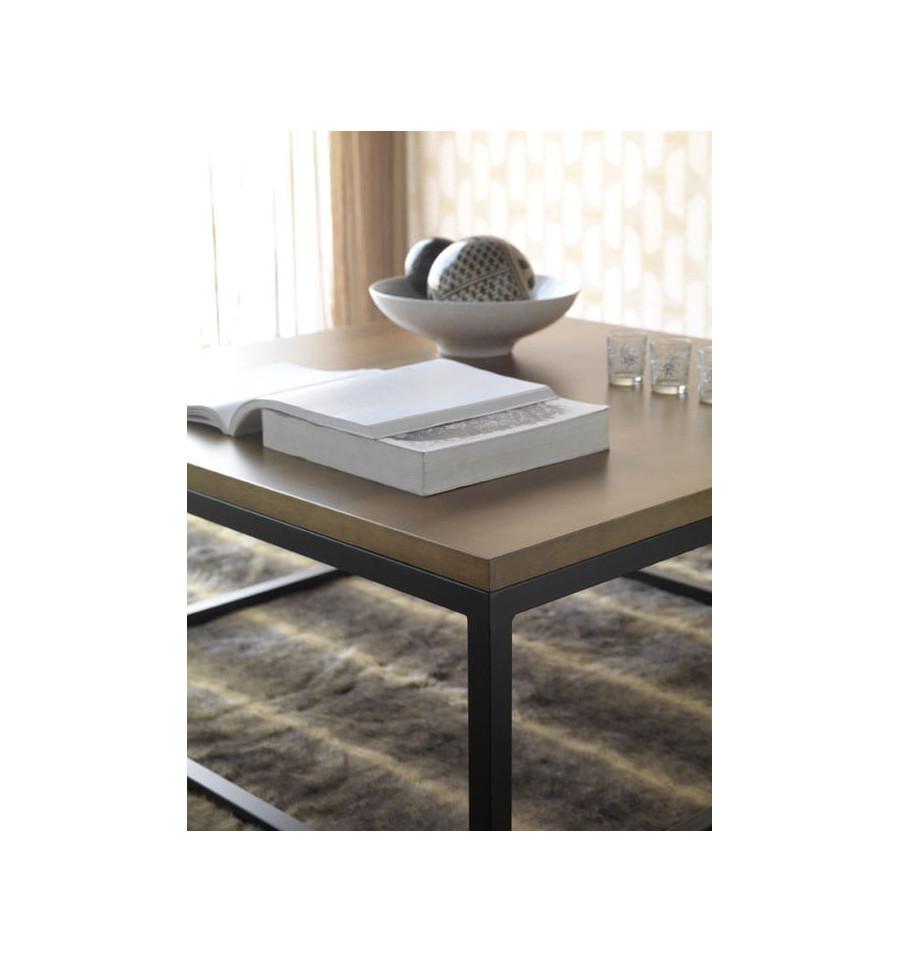 Mesa de centro de forja modelo mil n - Modelos de mesa de centro ...