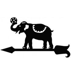 Veleta de forja Elefante