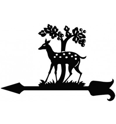 Veleta de viento Bambi