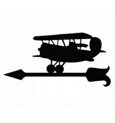 Veleta de viento avioneta