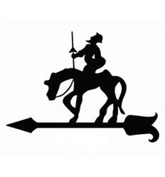Girouette don Quijote de la Mancha