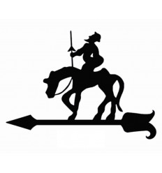Windfahne don Quijote de la Mancha