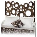 Tête de lit en fer forgé círculos