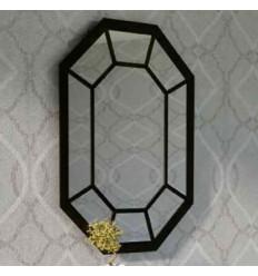Spiegel aus Schmiedeeisen Bombay