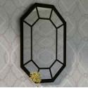 Specchio in ferro battuto Bombay