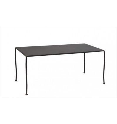 mesa de centro en forja estilo