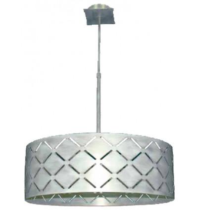 lampara de hierro moderna cube