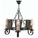 Lampada rustica in ferro battuto Eunice I