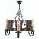Rustikale Lampe aus Schmiedeeisen Eunice I
