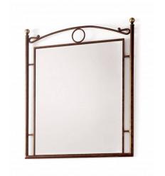 Specchio in ferro battuto Nudos