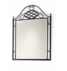 Spiegel aus Schmiedeeisen Marsella