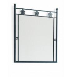 Specchio in ferro battuto Margarita