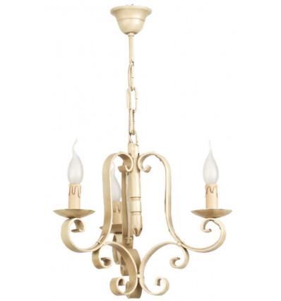 Lámpara de techo de forja Xenia