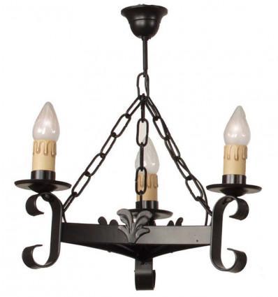 Lámpara Forja Rústica Format