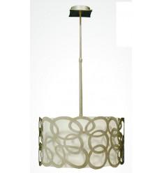 Teto moderno forjando lâmpada Elipse