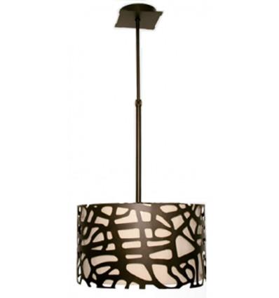 Lámpara Forja Techo Celosía