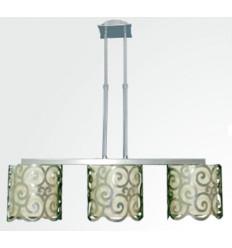 Lámpara de Techo en Hierro Eses 3 Luces