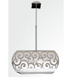 Lámpara techo de metal Spiral