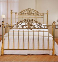 Tête de lit en laiton Nabuco de Peña Vargas