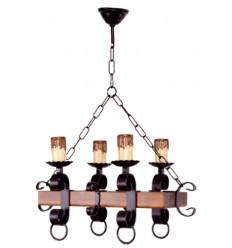 Lámpara rústica 5
