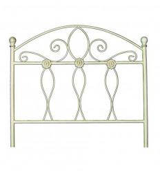 Cabecero cama 105 cm en color blanco con oro