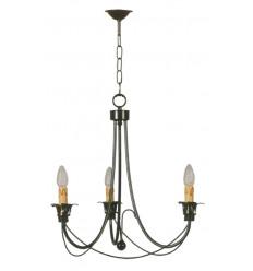 Lámpara de hierro de techo Pozuelo