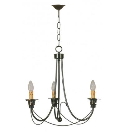 Lámpara 3 y 5 luces vela