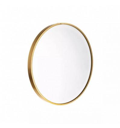 Espejo oro aluminio - cristal