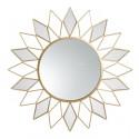 Espejo de metal redondo Granada