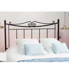 Cabecero cama matrimonio negro Álora