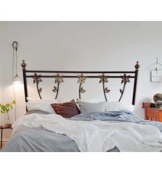 Cabecero de cama con flores Orquidea