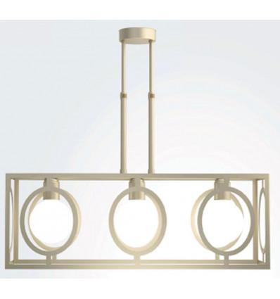 Lámpara moderna techo Figueras 3 luces