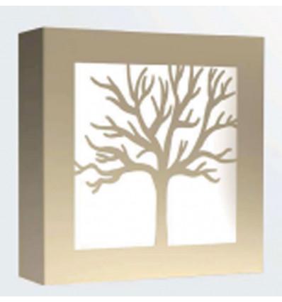 aplique moderno pared Arbol 1 luz