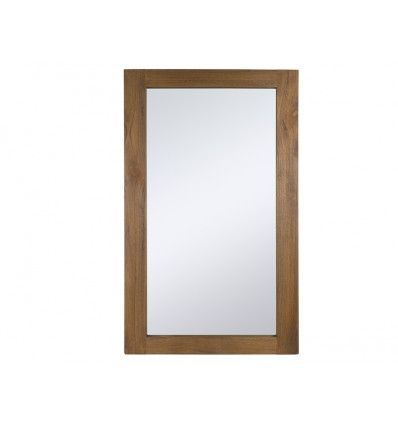 Espejo con marco de madera Amara