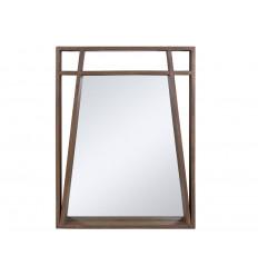 Marco de espejo de madera Amara
