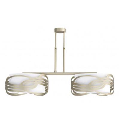 Lámpara atenea 2 luces
