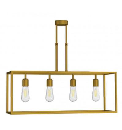 Lámpara Retro 4 Luces