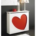 Cubreradiador Corazón