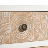 MUEBLE TV 4 CAJONES BLANCO-NATURAL