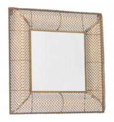 Espejo pared cuadrado Gotas