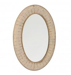 Espejo de pared Hojas