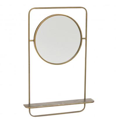 Espejo Estante Pared