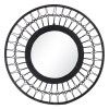 Espejo negro Ratán