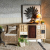 Aparador natural madera Salón
