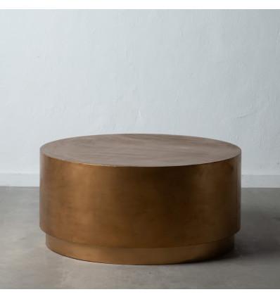 Mesa de centro en color Oro Viejo