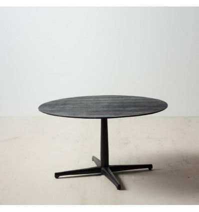 Mesa de centro Negro Aluminio