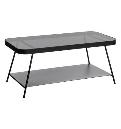 Mesa de centro Negro Metal