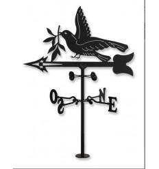 Banderuola Colomba e ulivo