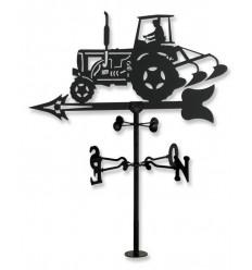 Windflügel Traktor